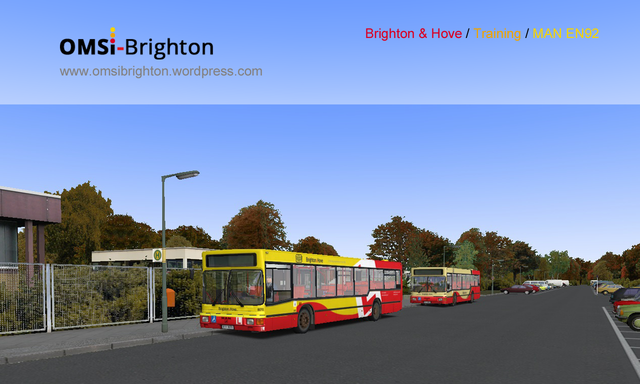 2 new repaints for Man EN92 – OMSI Brighton & Hove