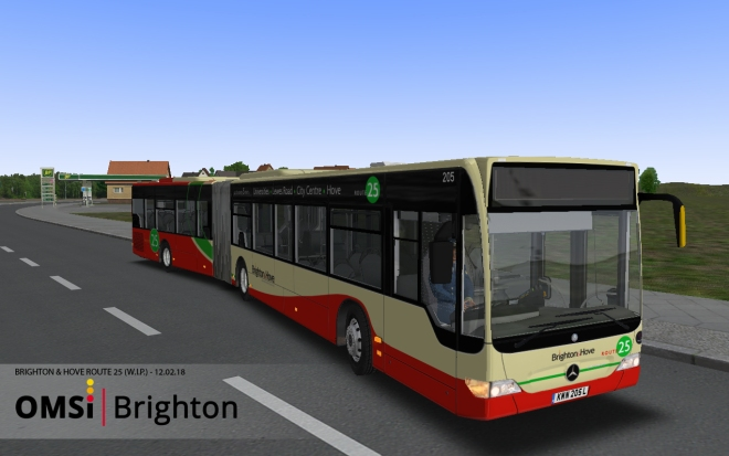 UK RHD O530G – OMSI Brighton & Hove